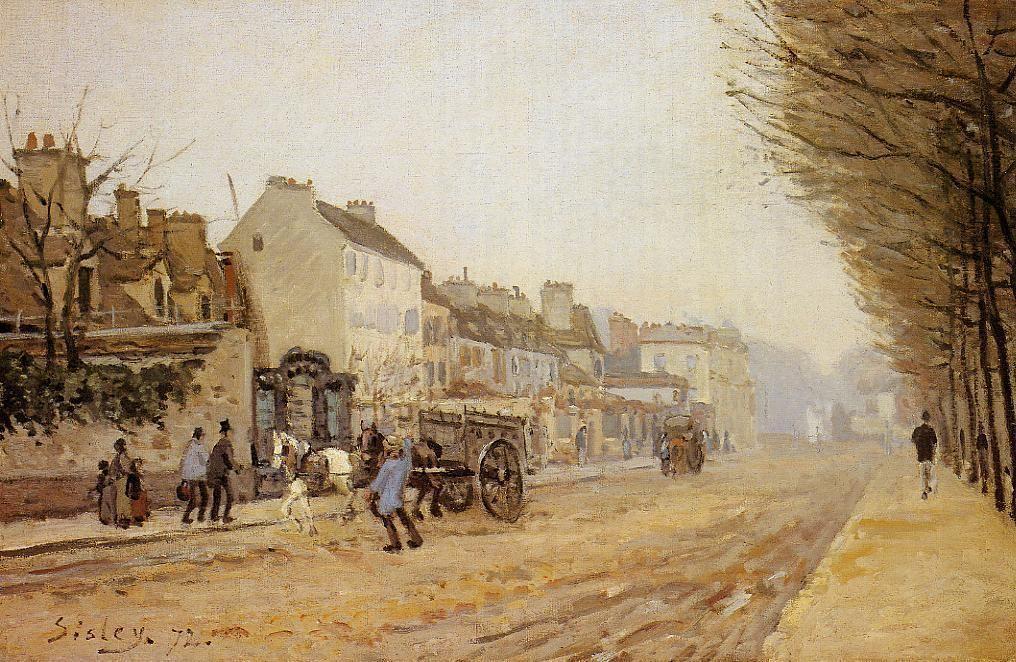 Boulevard Heloise, Argenteuil - Alfred Sisley