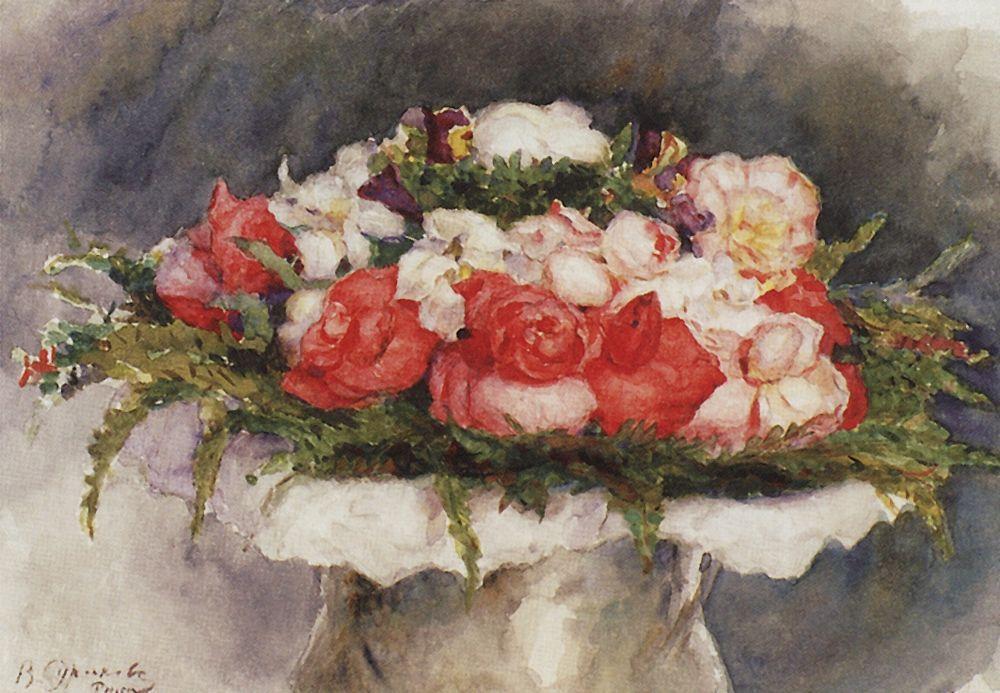 Bouquet - Vasily Surikov