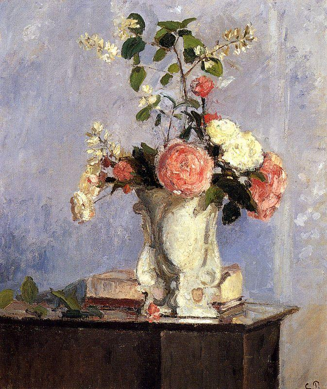 Bouquet of Flowers - Camille Pissarro
