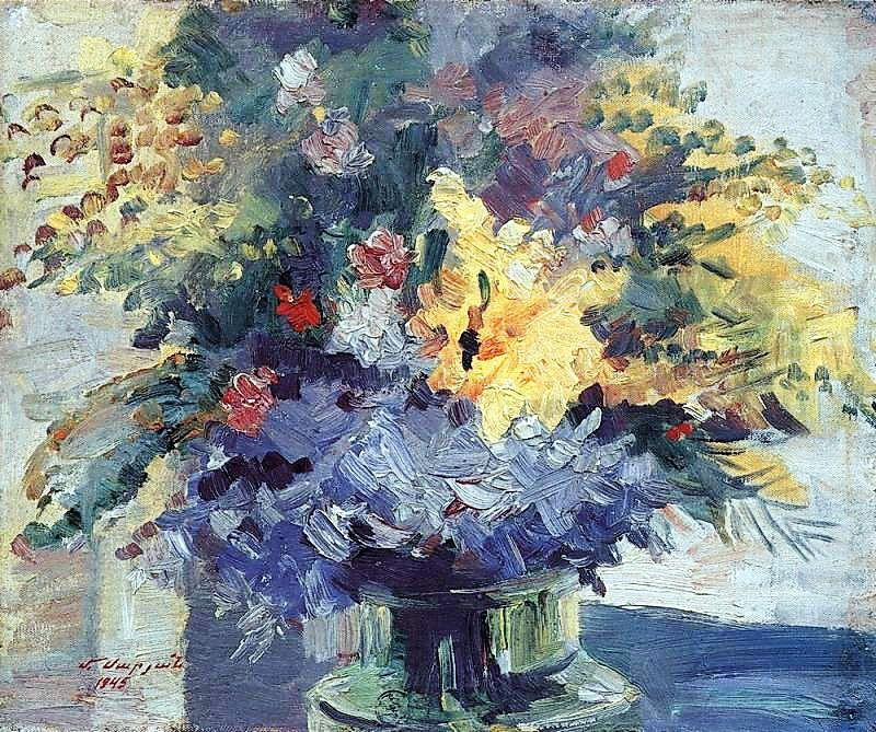 Bouquet of flowers - Martiros Saryan