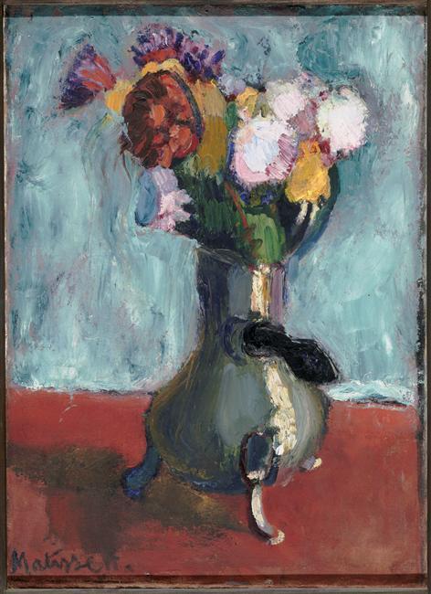 Bouquet of flowers in chocolate - Henri Matisse