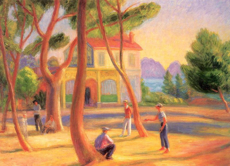 Bowlers, La Ciotat  - William James Glackens