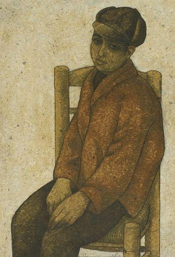 Boy In Red Jacket - Louay Kayyali
