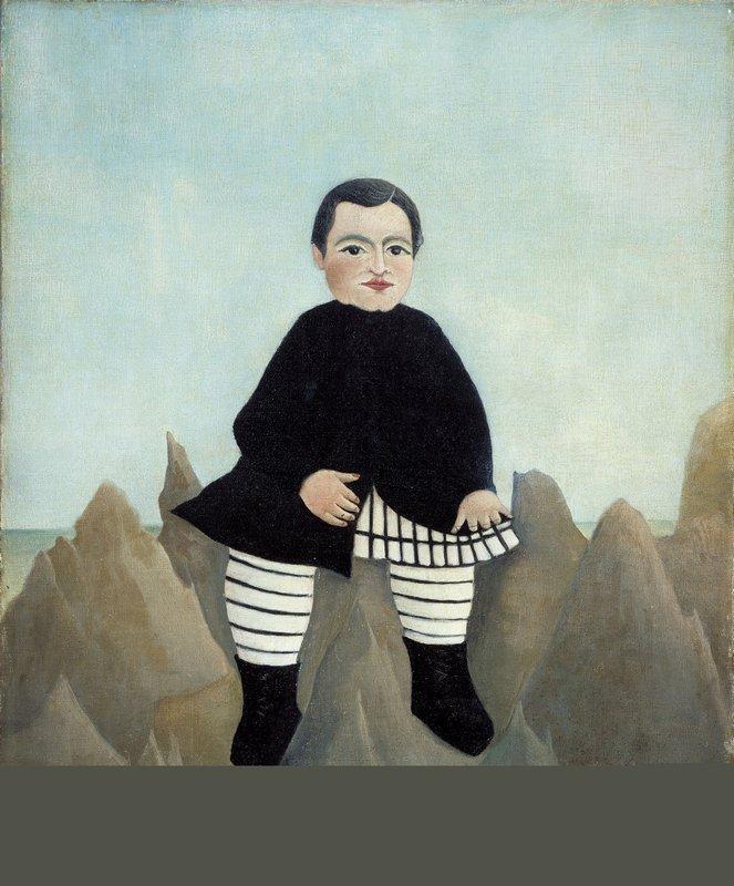 Boy on the Rocks  - Henri Rousseau