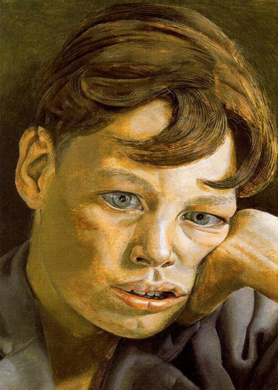 Boy's Head - Lucian Freud