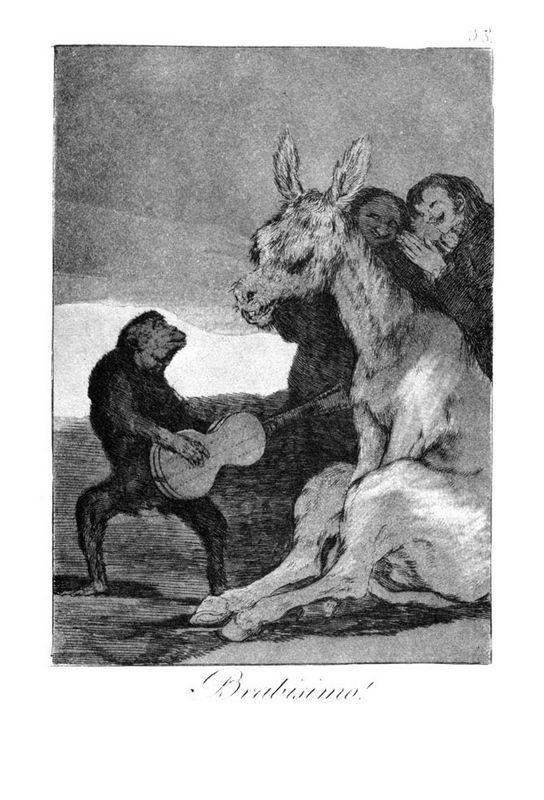 Bravissimo - Francisco Goya