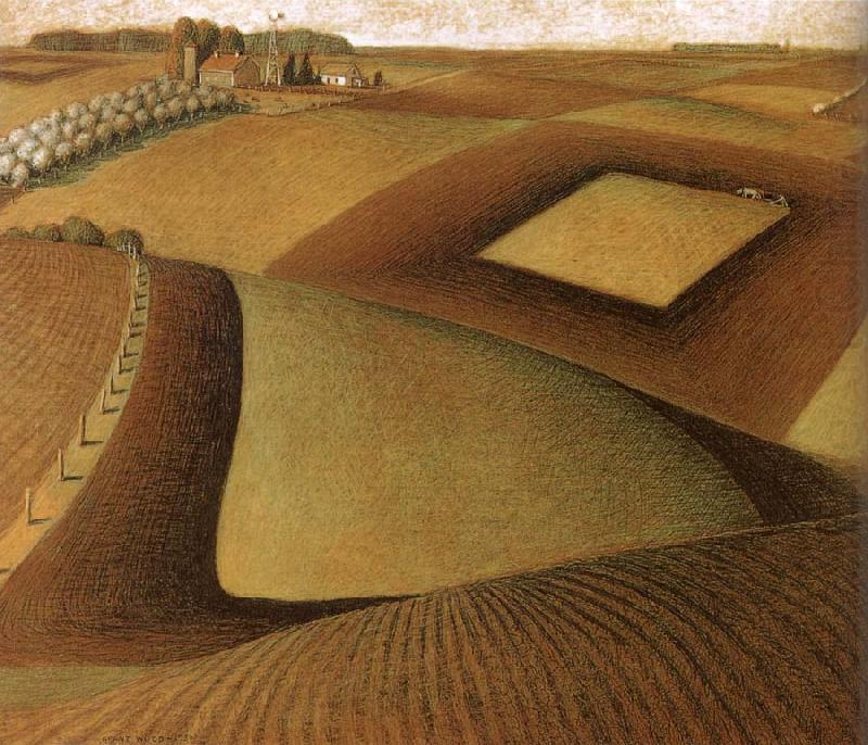 Break ground  - Grant Wood
