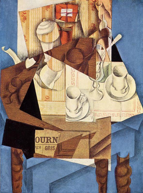 Breakfast - Juan Gris