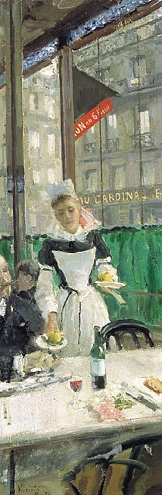 Breakfast time  - Konstantin Korovin