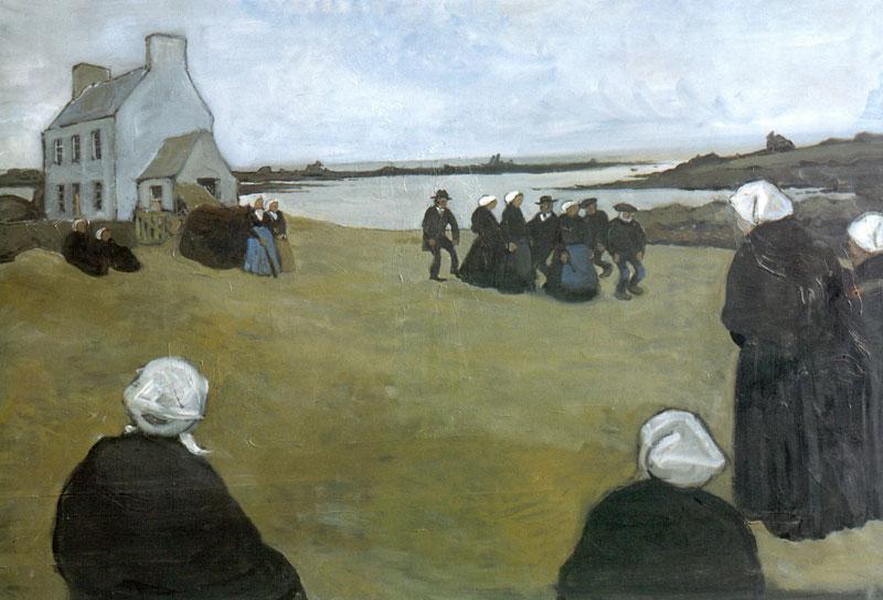 Breton dancing - Alexandre Benois