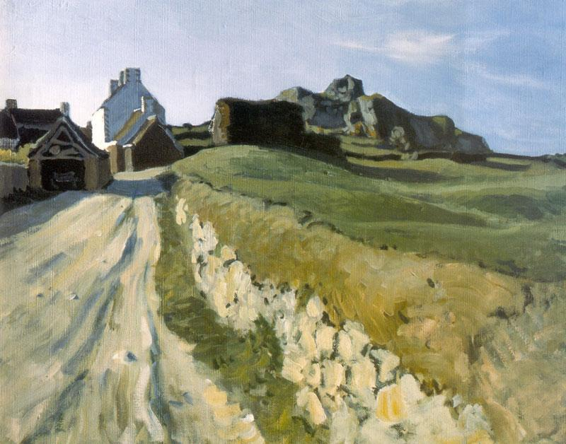 Breton Landscape - Alexandre Benois