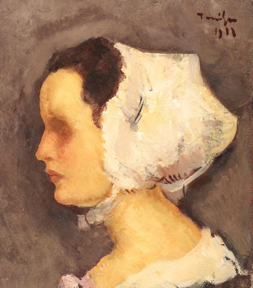 Breton Woman - Nicolae Tonitza
