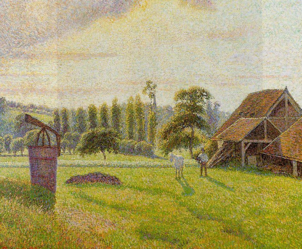 Brickworks at Eragny - Camille Pissarro