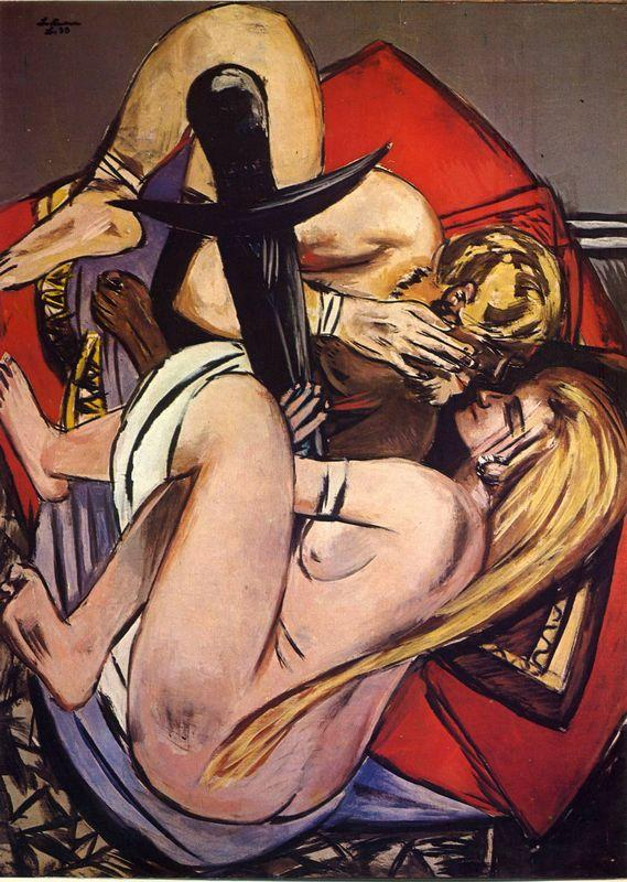 Brother and sister - Max Beckmann