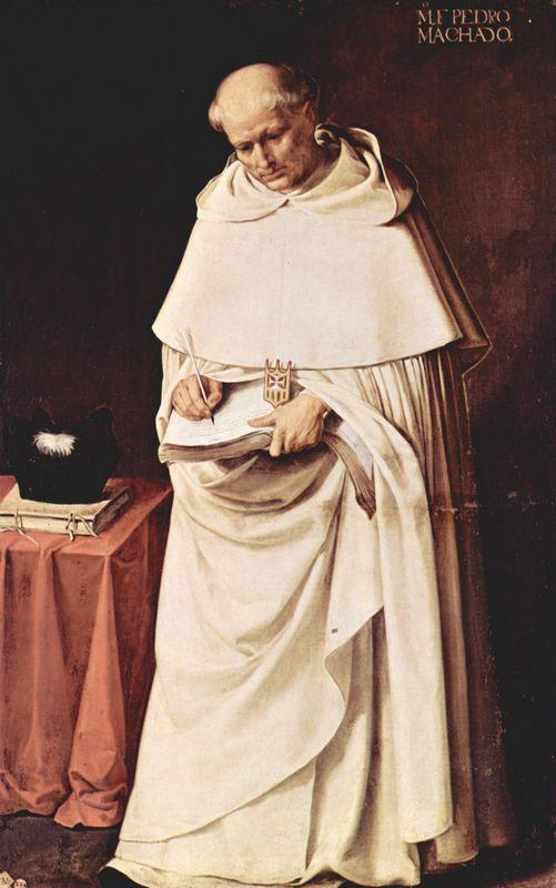 Brother Pedro Machado  - Francisco de Zurbaran