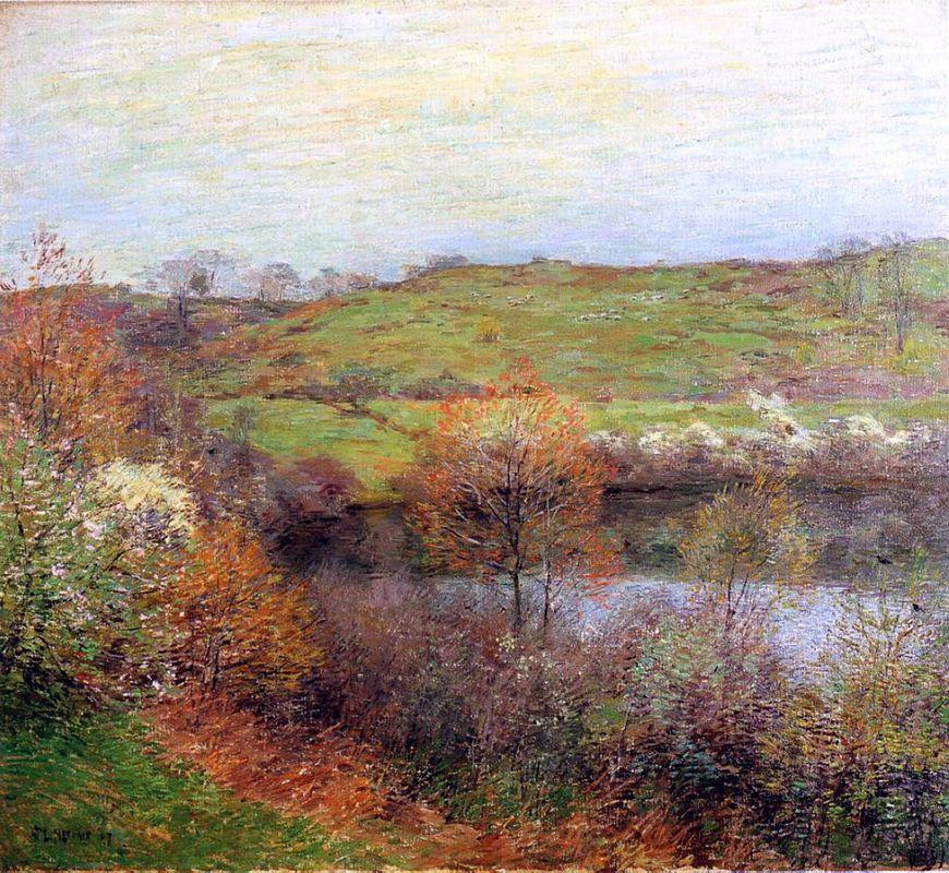 Buds and Blossoms - Willard Metcalf