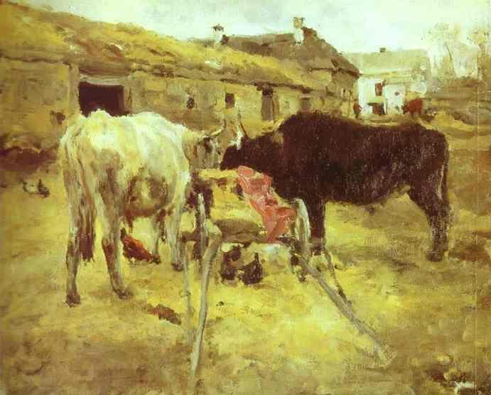 Bullocks - Valentin Serov