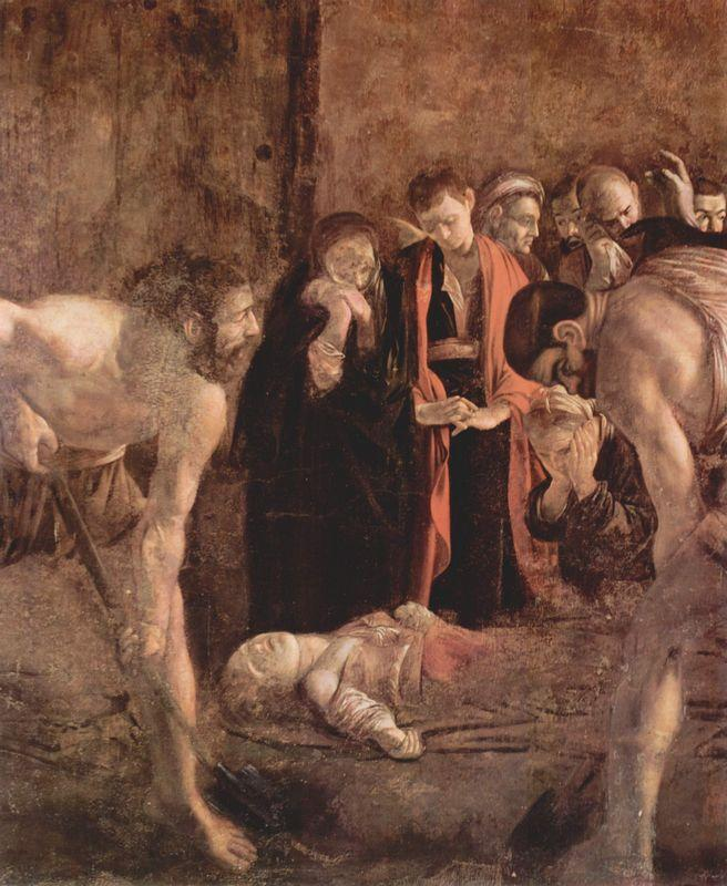 Burial of Saint Lucy - Caravaggio