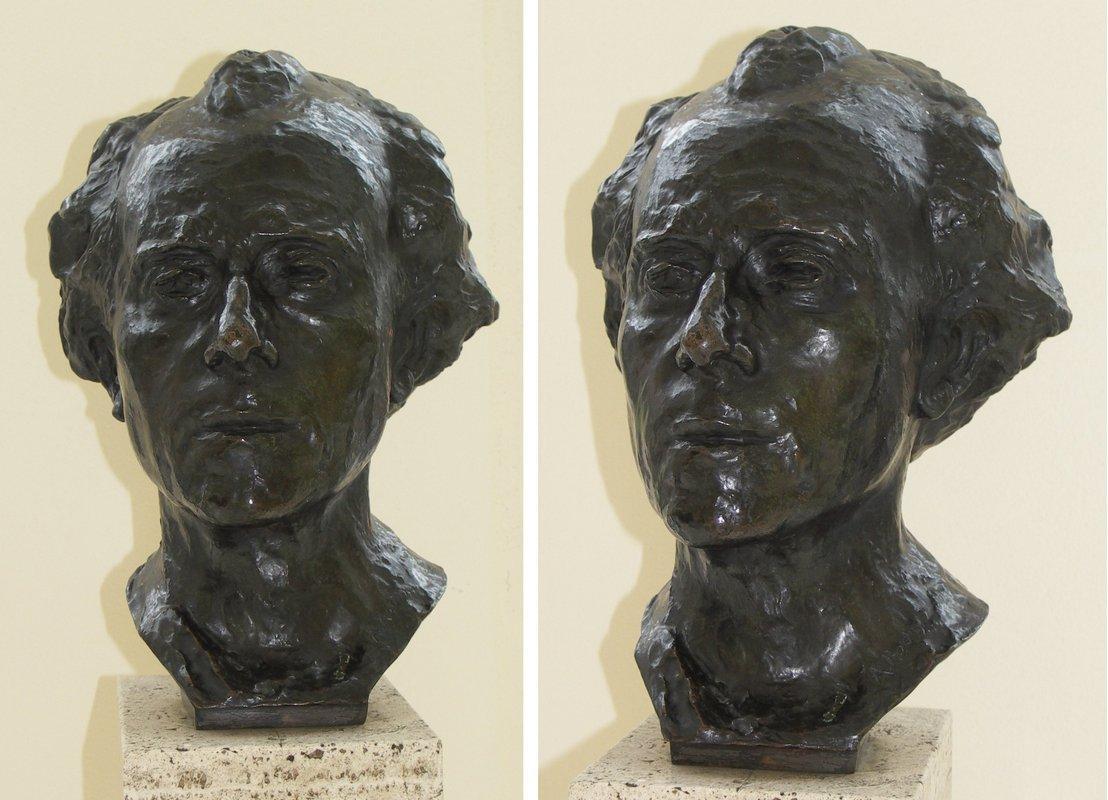 Bust of Gustav Mahler - Auguste Rodin