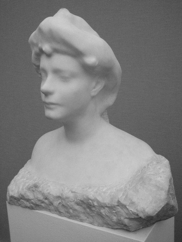 Bust of Helene von Nostitz  - Auguste Rodin