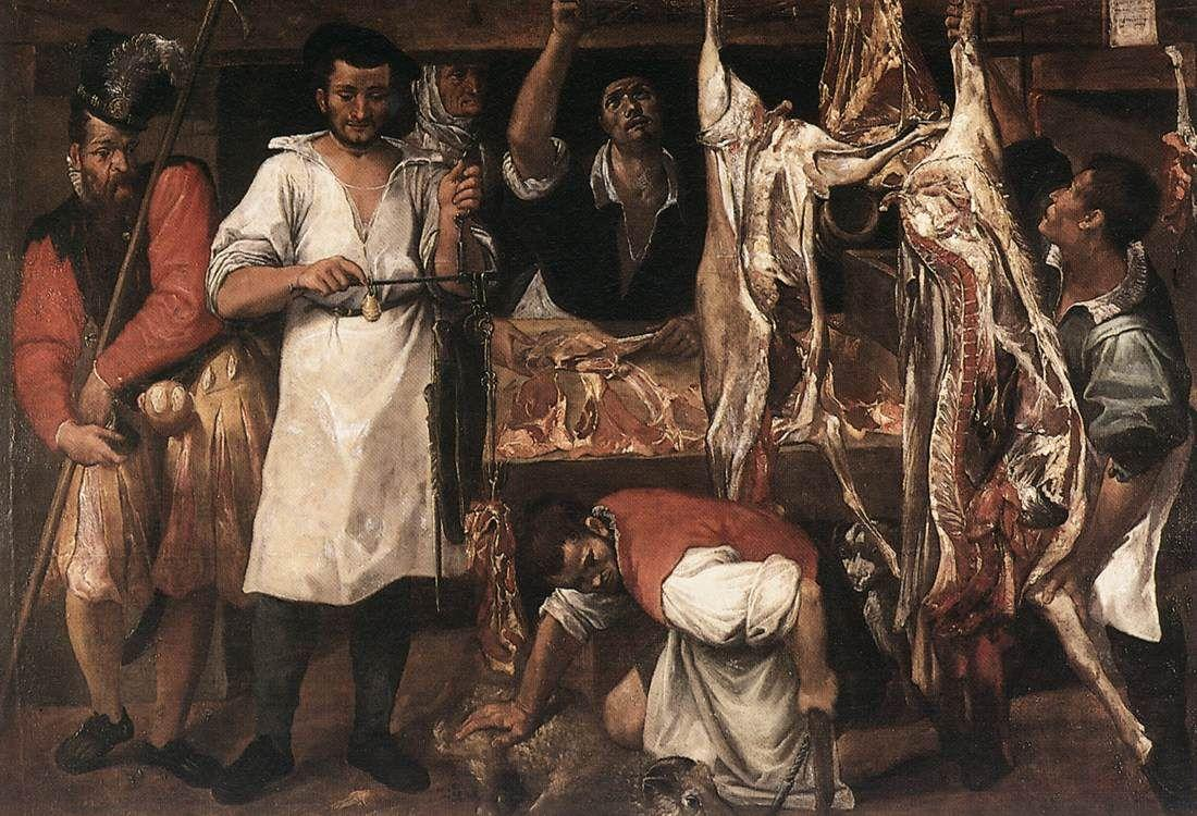 Butcher's Shop - Annibale Carracci