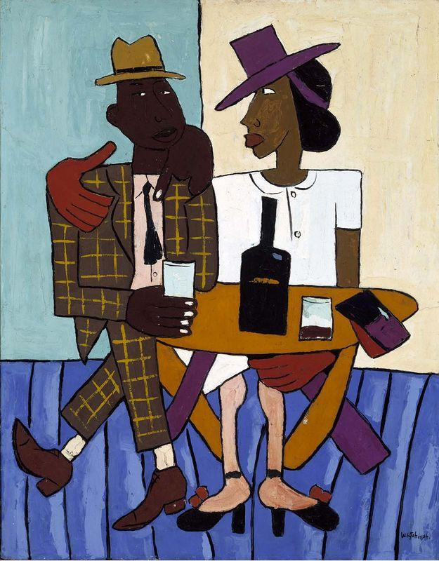Cafe - William H. Johnson