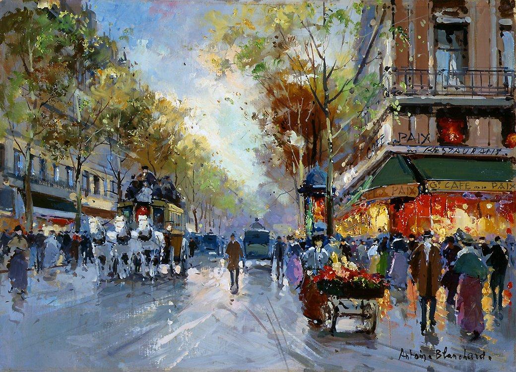 Cafe de la Paix - Antoine Blanchard