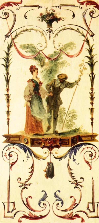Cajoler - Antoine Watteau