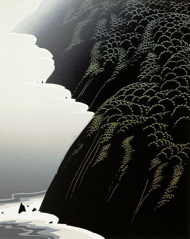 California Coast - Eyvind Earle