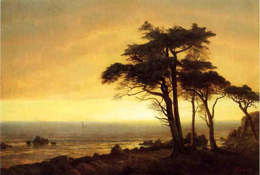California Coast   - Albert Bierstadt