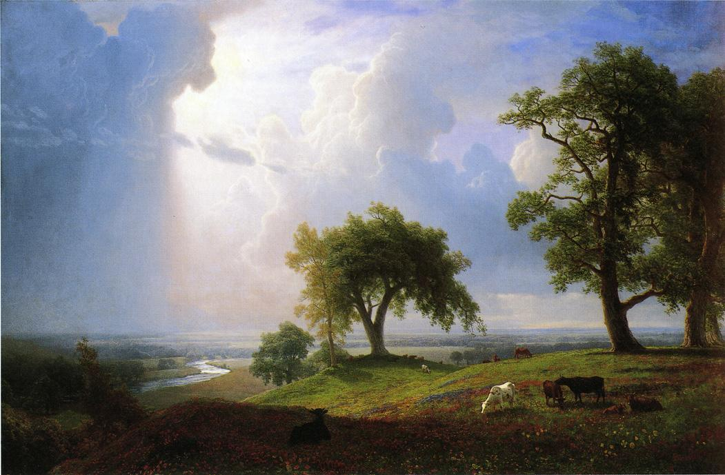 California Spring - Albert Bierstadt