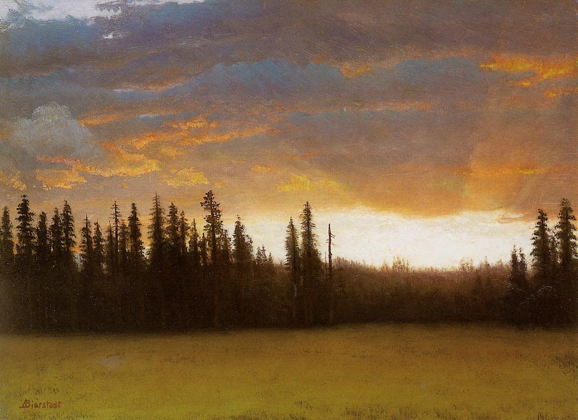 California Sunset - Albert Bierstadt
