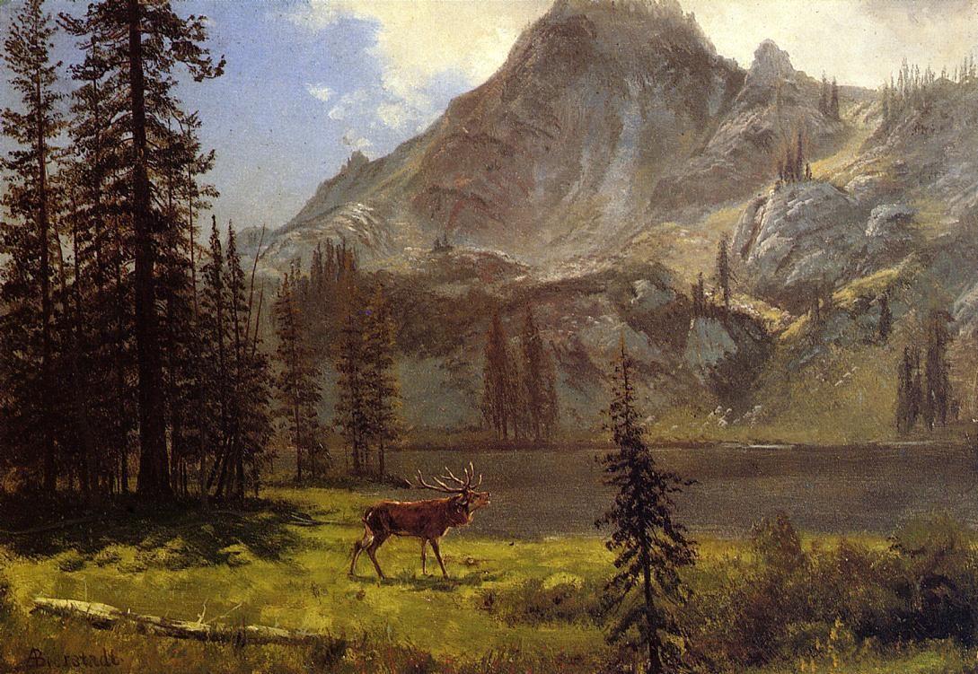 Call of the Wild   - Albert Bierstadt