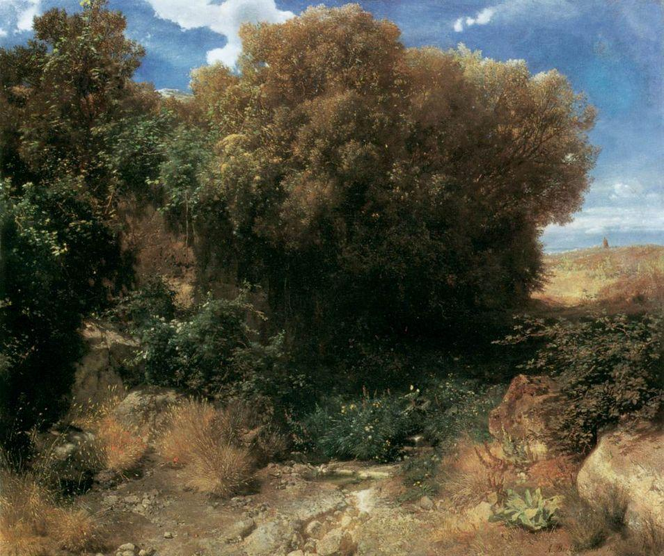 Campagna Landscape - Arnold Bocklin
