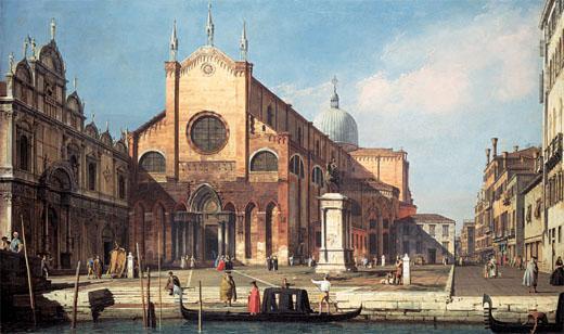 Campo Santi Giovanni e Paolo - Canaletto