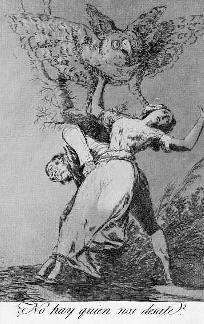 Can't anyone untie us? - Francisco Goya
