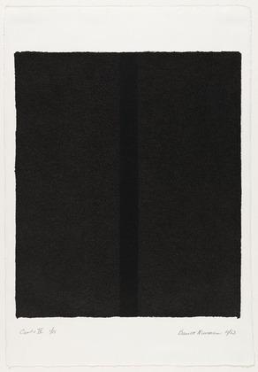Canto IV - Barnett Newman