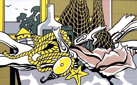 Cape Cod still life - Roy Lichtenstein