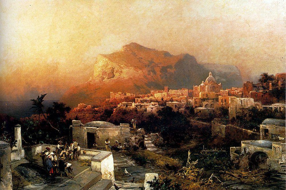 Capri - Albert Bierstadt