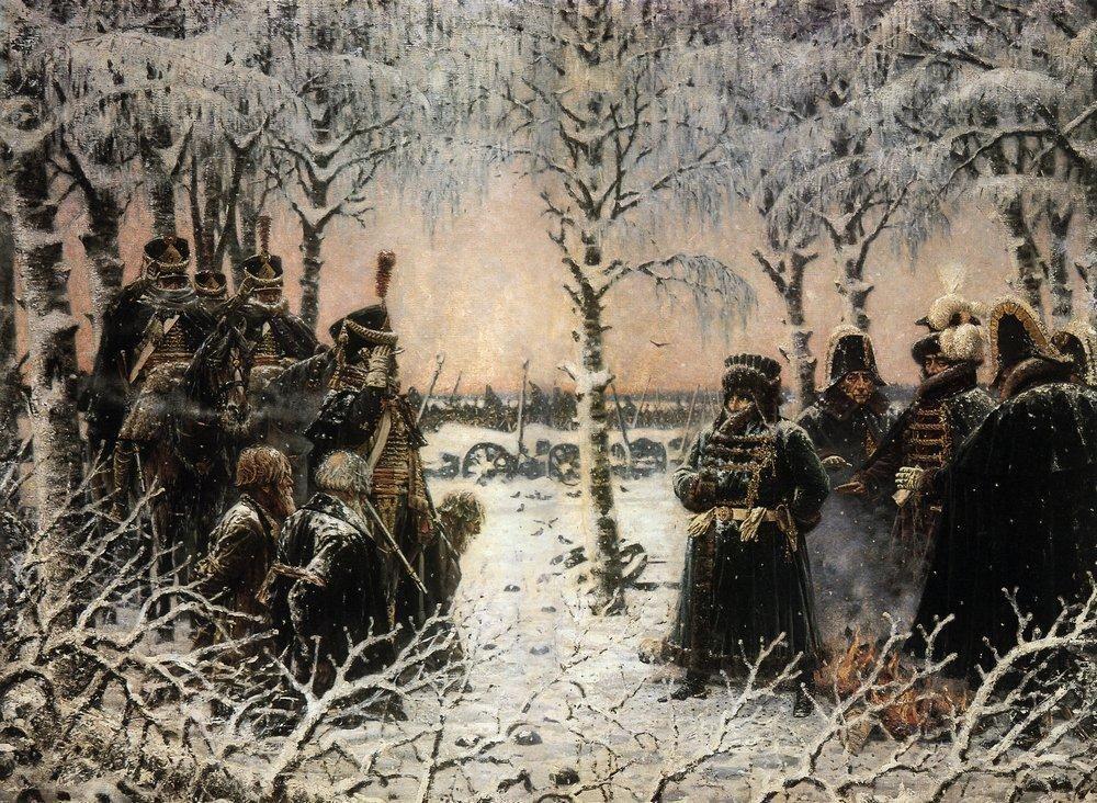 Captured with arms - Shoot them - Vasily Vereshchagin