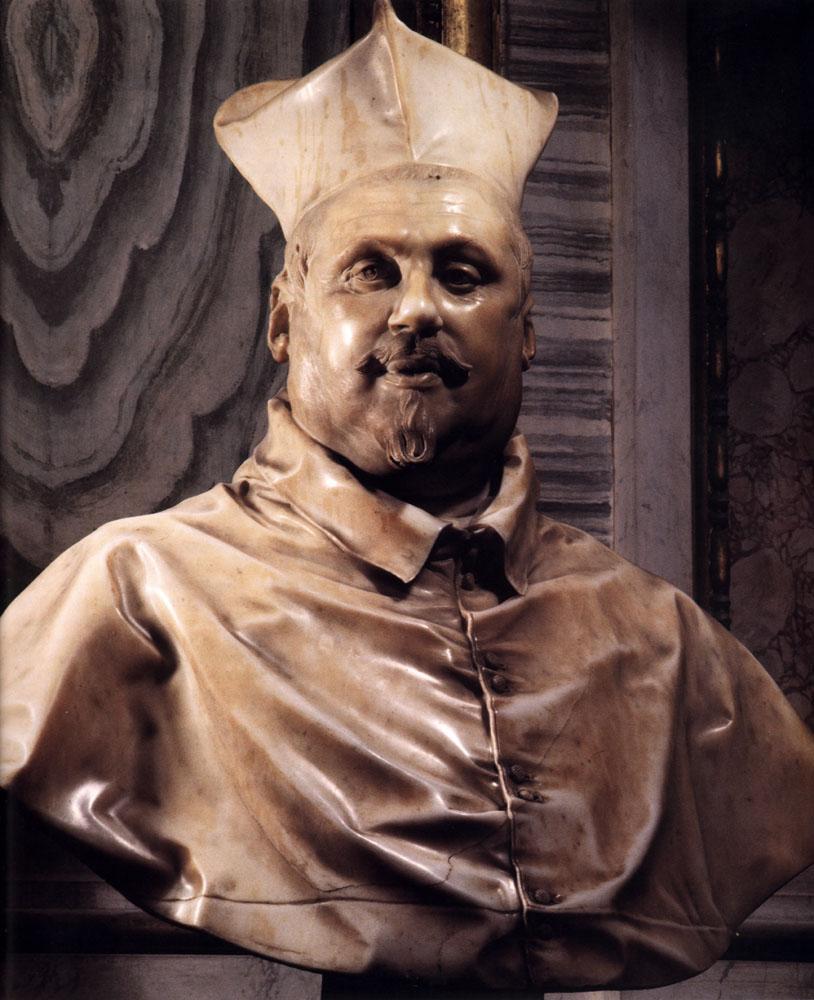 Cardinal Scipione Borghese - Gian Lorenzo Bernini