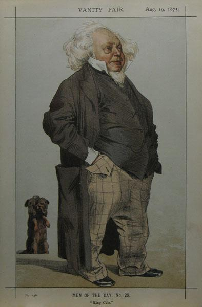 Caricature of Henry Cole - James Tissot