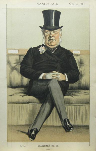 Caricature of Henry William Eaton M.P. - James Tissot