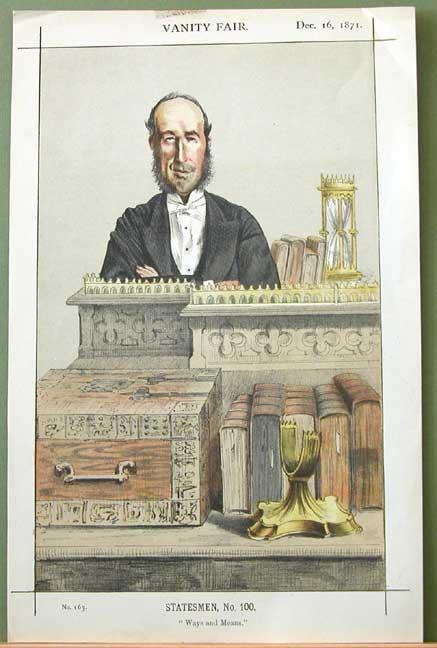 Caricature of John George Dodson M.P. - James Tissot