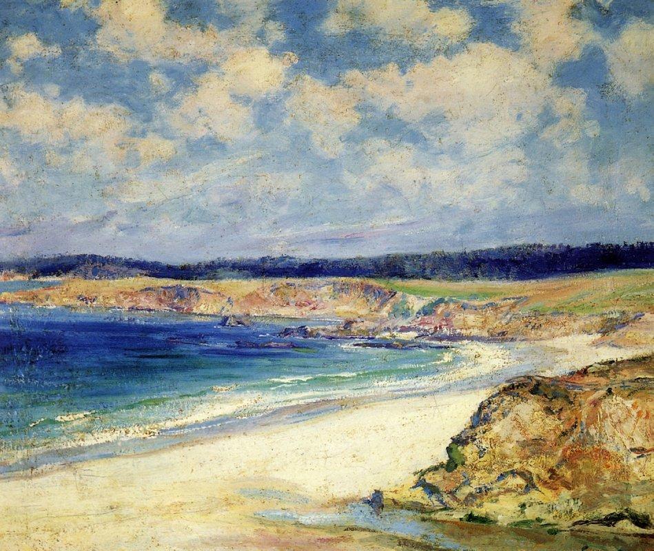 Carmel Beach - Guy Rose