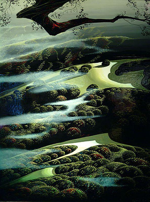 Carmel Valley Memoryl - Eyvind Earle