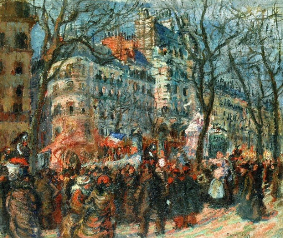 Carnival on the Grands Boulevards - Raoul Dufy