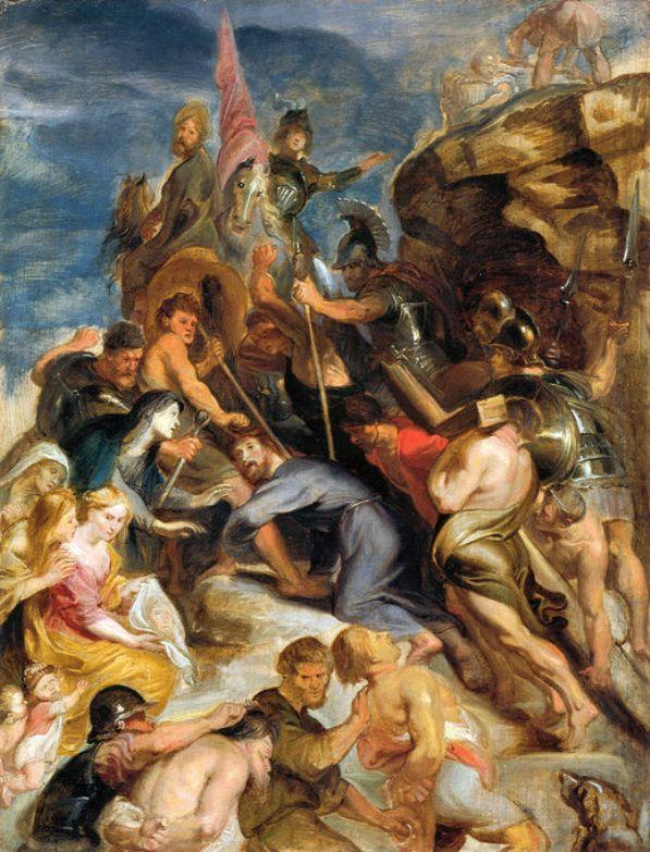 Carrying the Cross - Giovanni Battista Tiepolo
