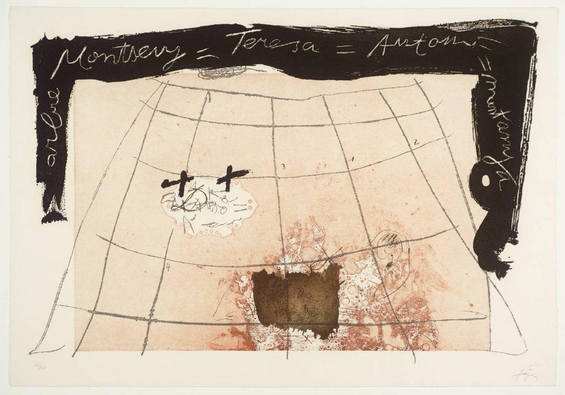 Cartography  - Antoni Tapies