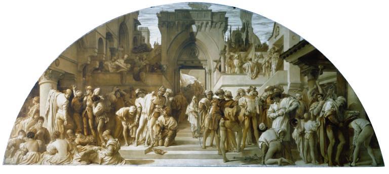 Cartoon for the fresco